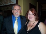 Cliff Ratzenberger and Mary Damiano