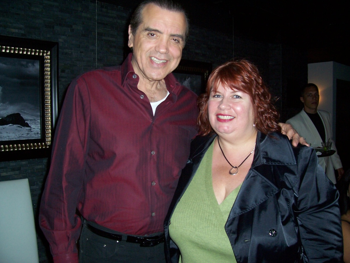 Chazz Palminteri and Mary Damiano