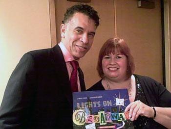 Brian Stokes Mitchell and Mary Damiano