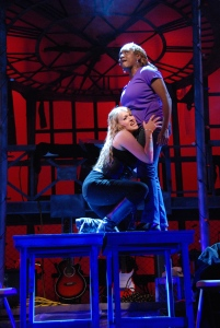 Amy Miller Brennan and Christina Alexander in Rent